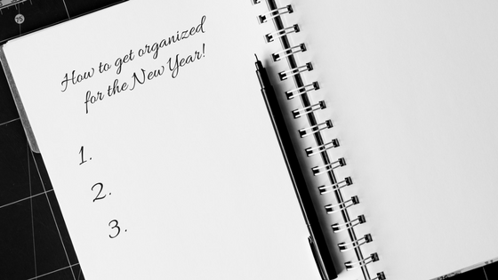 How to get organized for the new year